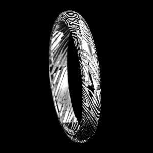 Demi-Jonc en damas 3 mm | Bijoux damas - Pouillon (40)