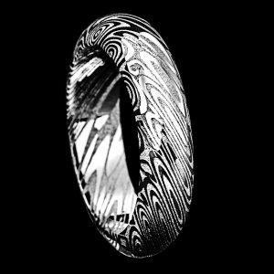 Demi-Jonc en damas 5 mm | Bijoux damas - Pouillon (40)
