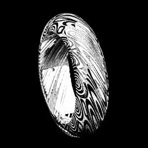 Demi-Jonc en damas 6 mm | Bijoux damas - Pouillon (40)