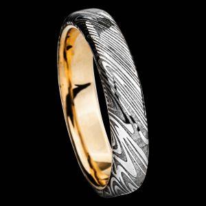 Alliance en damas et or bijoux-damas.com Pouillon