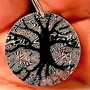 Pendentif arbre de vie | Bijoux damas - Pouillon (40)